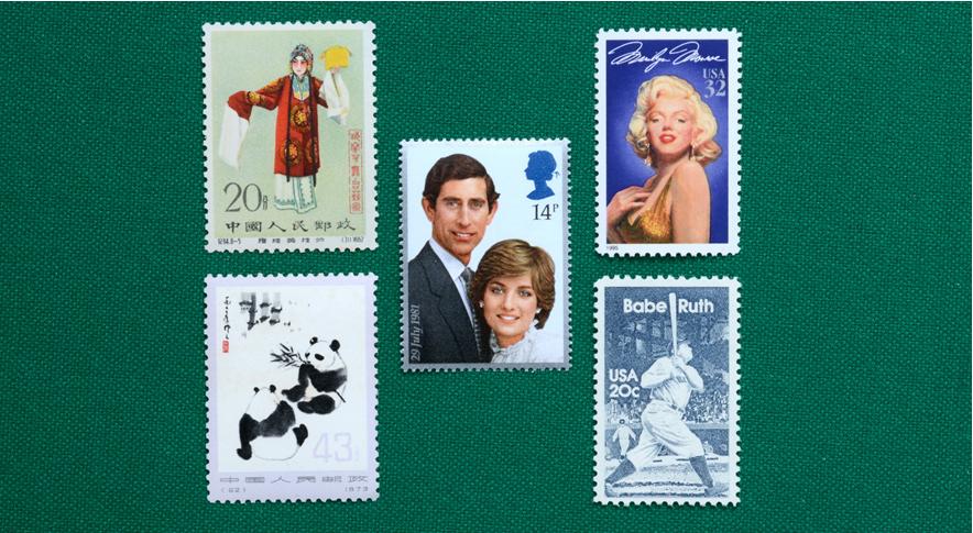 外国・中国切手