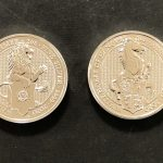 2020年イギリス クィーンズビースト 2ポンド銀貨